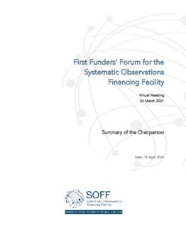 SOFF First Funders' Forum Summary - application/pdf
