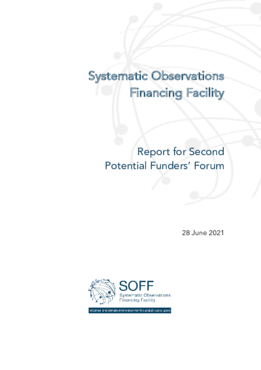 SOFF Report for Second Potential Funders' Forum - application/pdf