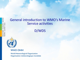 Presentation: 3. General introduction to WMO's Marine Service activities by Xu Tang  - application/pdf