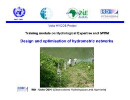 Design and optimisation of hydrometric networks - application/pdf