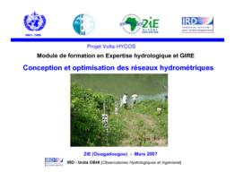 Conception et optimisation des réseaux hydrométriques - application/pdf