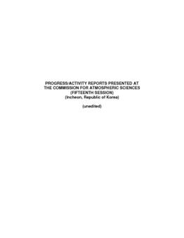 Parte II - Informe de situación (in Inglés) - application/pdf
