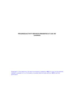 Часть II - Отчеты О Ходе Работы/Деятельности (по-английски) - application/pdf