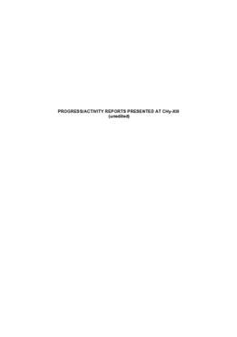 Part II - Progress Report - application/pdf