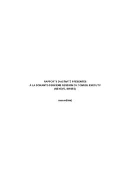 Partie II - Rapport d'activité - application/pdf