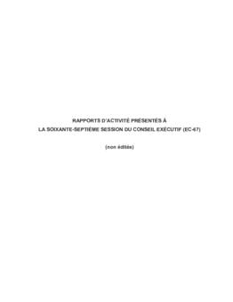 Partie II - Rapports d'activité - application/pdf