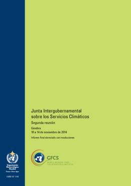 Junta Intergubernamental Sobre Los Servicios Climáticos