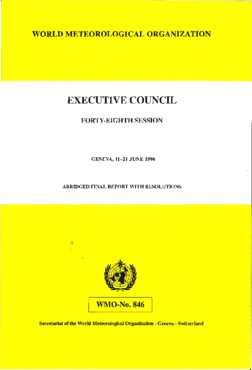 Executive Council - Forty-eighth session : abridged final report