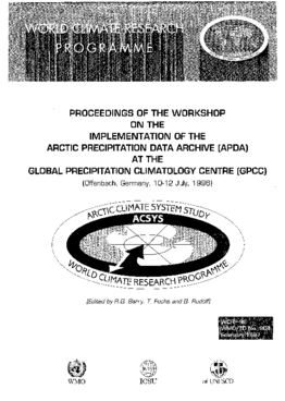 PROCEEDINGS OF THE WORKSHOP ON THE IMPLEMENTATION OF THE ARCTIC